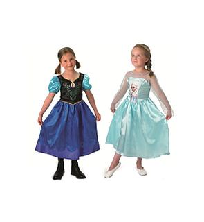 Déguisement La Reine des Neiges Anna et Elsa